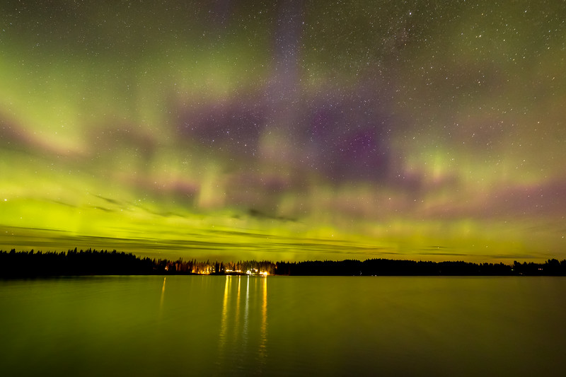 Ness Lake Aurora