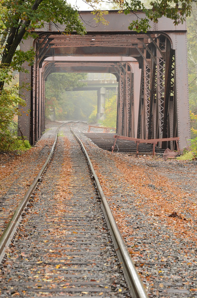 Trestle in Fog