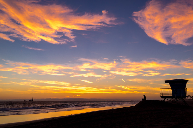 Huntington Beach, California, Sunset