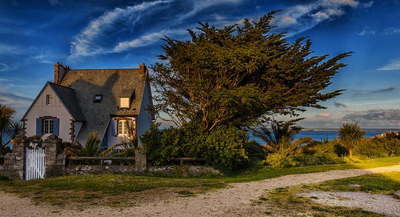 Maison en bord de mer (Roscoff, Finistère, 29)