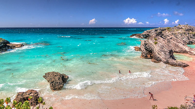 A Beach to Ourselves, Bermuda.