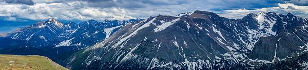 Rocky Mountain National Park Panorama