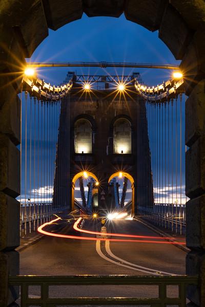 Menai Bridge Twilight