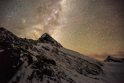 Mt Aspiring & Milky Way