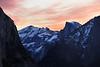 Sunrise Over Half Dome, Yosemite National Park, CA