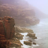Acadia Seacoast in Morning Mist, Acadia National Park, Maine