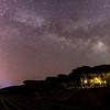 Milkyway above Saint-Tropez, France
