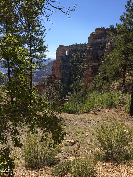 Angel's Window - North Rim of the Grand Canyon