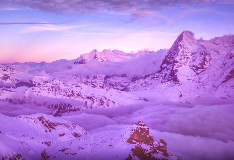 Eiger Sunset