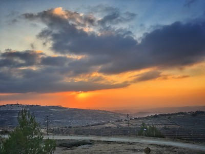 magical sunset gush etzion - LBD