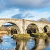 The Old Medieval Bridge Stirling Scotland
