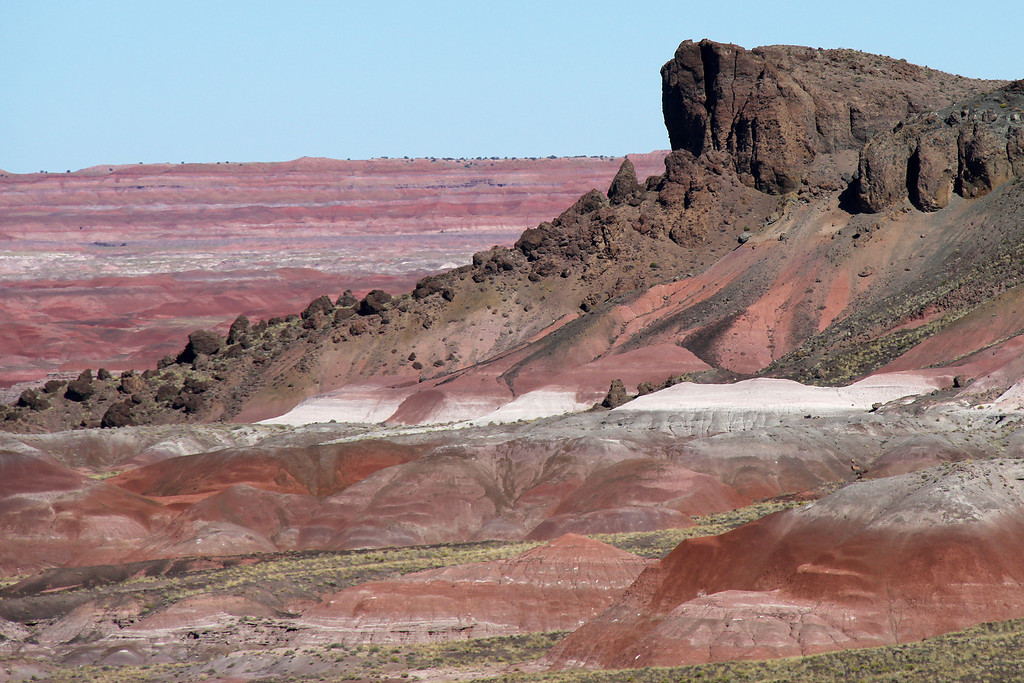 Painted Desert / Petrified Forest National Park, Arizona, October 2011.