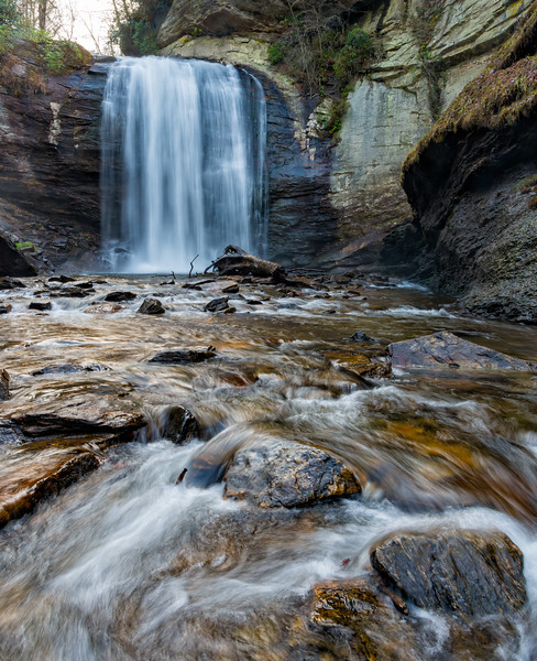 Looking Glass Falls - Pisgah National Forest - NC-15