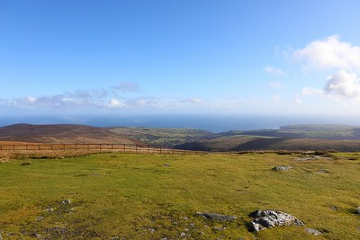The view from Snaefell 6