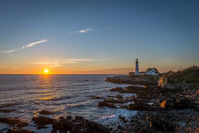 Portland Head Lighthouse Sunrise 2