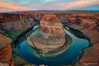 Horseshoe Bend in Page, AZ
