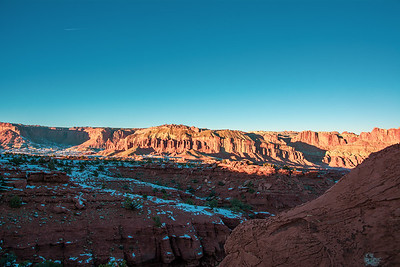Sunset Point in Capitol Reef