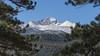 Peeking at Longs Peak