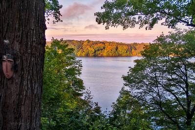Christmas Lake Foliage