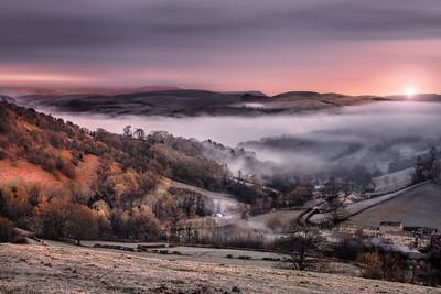 Misty Sunrise - Wales