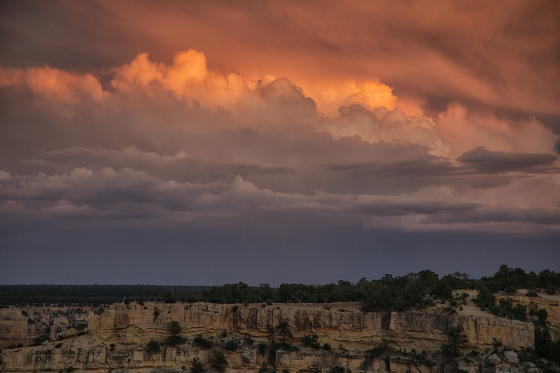 Sunset Clouds, Grand Canyon