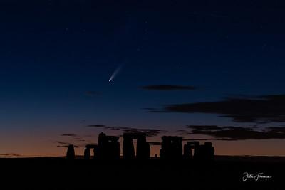 Neowise comet, Stonehenge