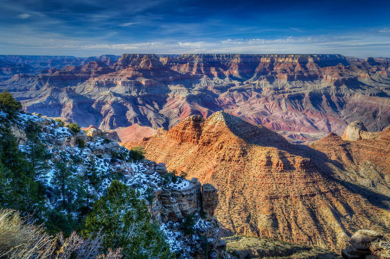 The South Rim of the Grand Canyon, Arizona