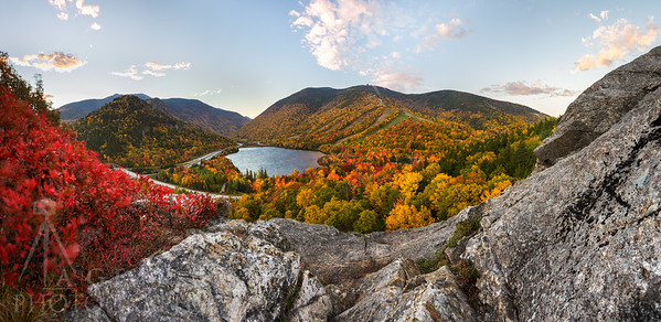 Franconia Notch Fall Colors
