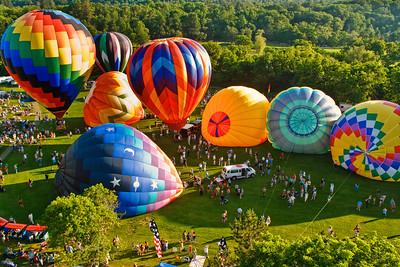 Quechee VT Balloon Festival