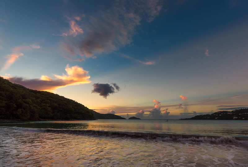 Lone Paddle Boarder -  Magens Bay, St Thomas