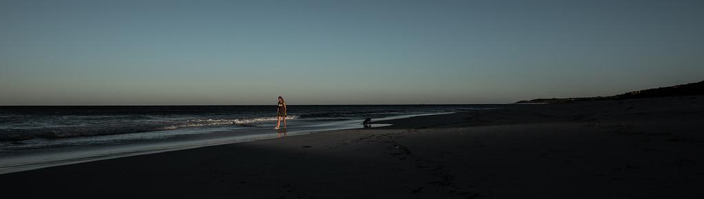 Jindalee beach WA Australia