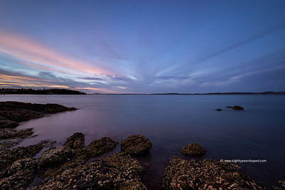 Evening Stream of Light