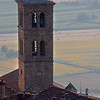 Bell tower in Cortona
