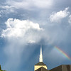 Rainbow over Lawndale Baptist Church, Greensboro, NC