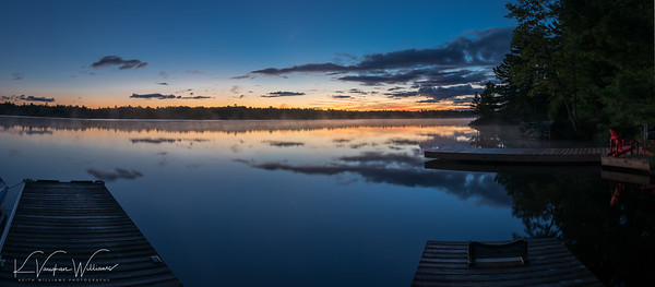 Pre-dawn on Gull Lake