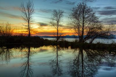 Sunset at Golden Gardens