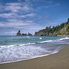 Sea stacks on Shi Shi Beach, Olympic National Park, Olympic Peninsula, Washington State