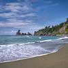 Sea stacks on Shi Shi Beach, Olympic National Park, Olympic Peninsula, Washington State