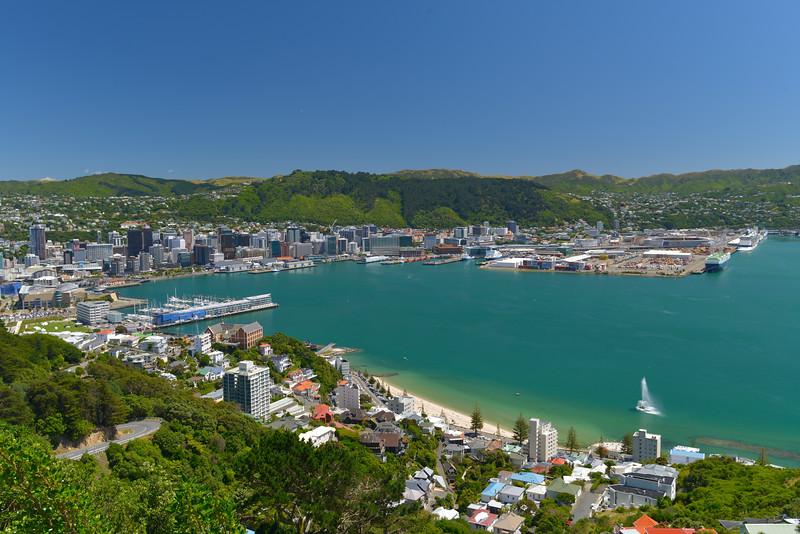 Wellington Harbour - New Zealand