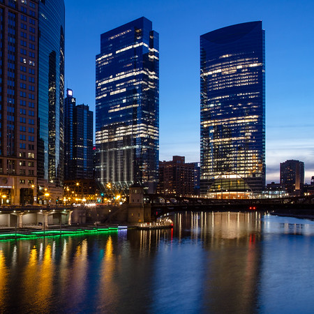 River Walk at Blue Hour