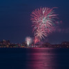 Canada Day 2015 Fireworks in Burlington, Ontario