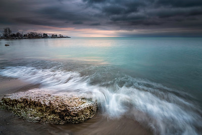 Stormy Shores At Lake Ontario