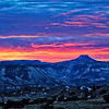Cerro Pedernal Sunset