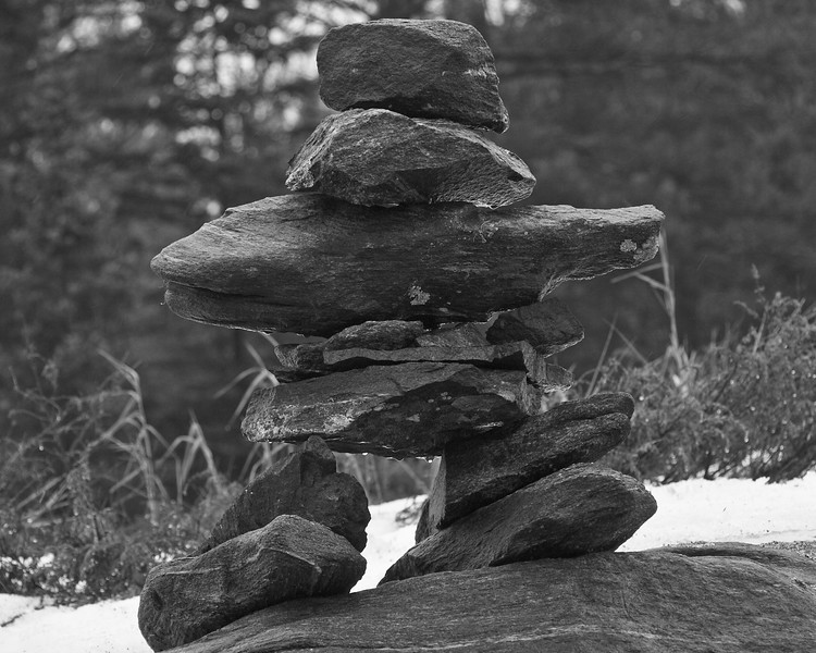 Inukchuks line Northern Highways in Canada. They are your guidepost to our Country!!!