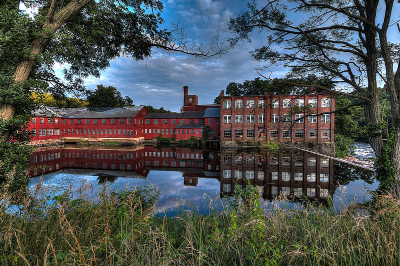 """Old Collinsville Factory"", Collinsville, CT"