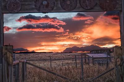 Wet Mountain Sunrise