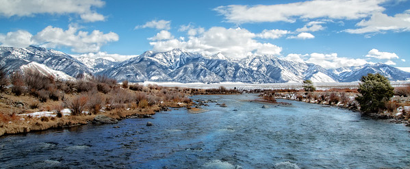 March 24 - View from Three Dollar Bridge, Montana<br /> <br /> A beautiful place to fly fish.  This is the Madison River, about 32 miles from West Yellowstone.<br /> <br /> Thanks so much for your nice comments on my sunrise image I posted yesterday!