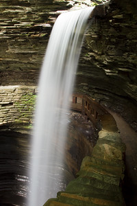 Watkins Glen Waterfall