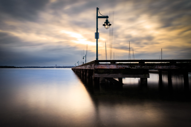 Kirkland Marina Long Exposure
