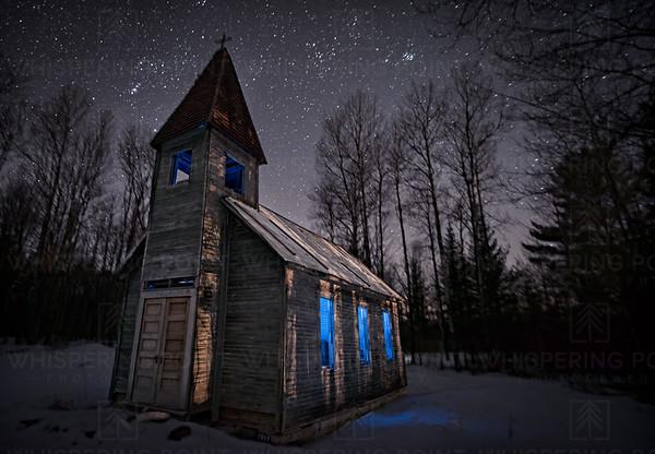 Estonian Church at Night (144)